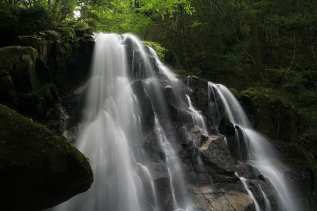 甲賀美濃部郷と滝