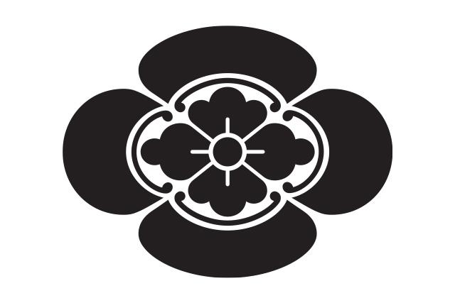甲賀伴家の家紋 木瓜紋