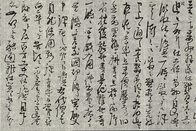 秀吉の正室の寧々(ねね)に慰めの手紙を送る