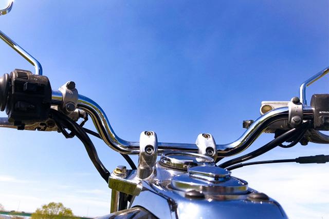 バイクに乗るとアイデアがひらめく
