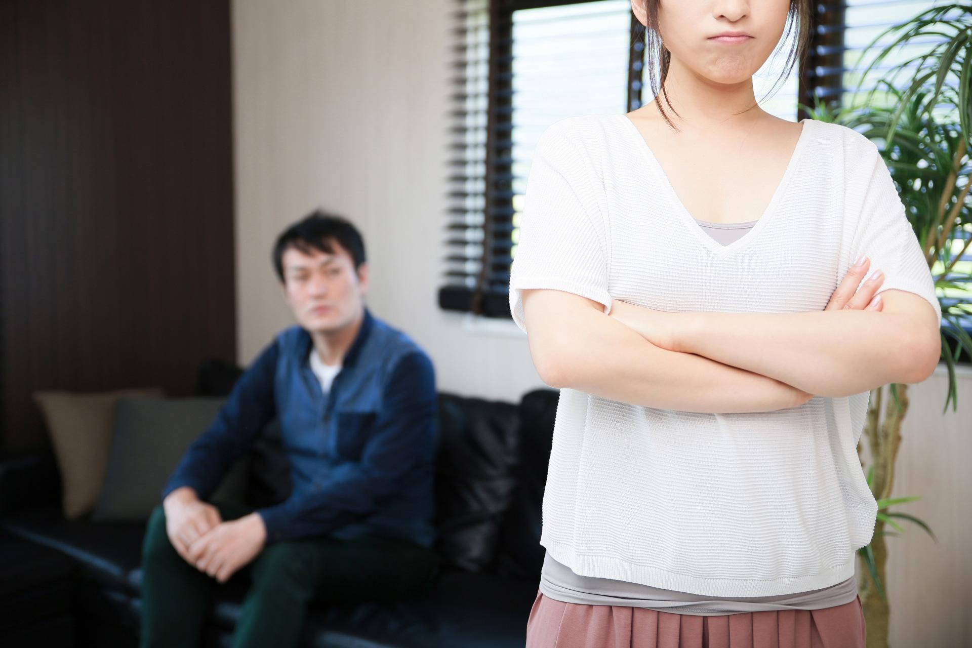 夫婦の対立
