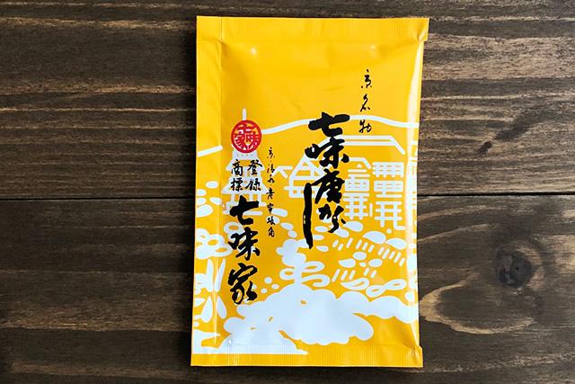 京都七味家本舗の七味唐辛子