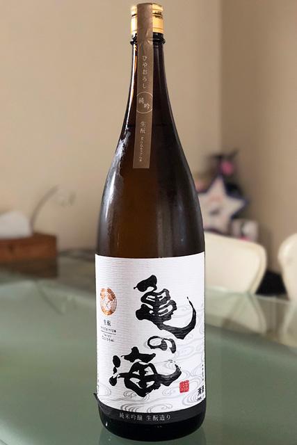 亀の海 純米吟醸 ひやおろし 生もと Modernize Terroir Gorobei