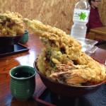 漁師料理の店「ばんや」の天丼